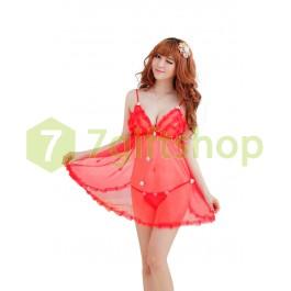 Váy Ngủ Gợi Cảm A306 (Đỏ)