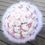Hoa Gấu Bông 21 Hello Kitty 7 Ôm Bông