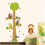 Decal Dán Tường Trang Trí Phòng ABC1038 (60x90)