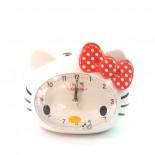 Đồng Hồ Báo Thức Hello Kitty LD802 (Nơ Đỏ)