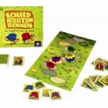 Schild Kroten Rennen Board Game