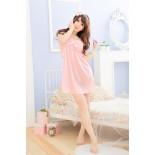 Váy Ngủ Gợi Cảm 8846( Hồng)