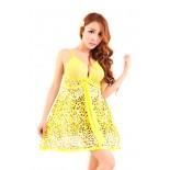Váy Ngủ Gợi Cảm 6319 (Vàng)