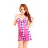 Váy Ngủ Gợi Cảm 6963 (Hồng Đậm)