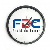 In Logo Lên Đồng Hồ Treo Tường