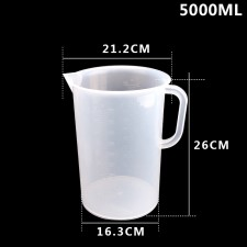 Ca Đong Nhựa Có Vạch Chia Định Lượng 5000ml