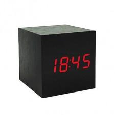 Đồng Hồ Gỗ Báo Thức Hình Vuông (Woolen Clock) 1293