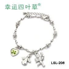 Lắc Tay Cỏ 4 Lá - LSL-206