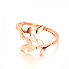 Nhẫn Inox Mạ Vàng JZ019